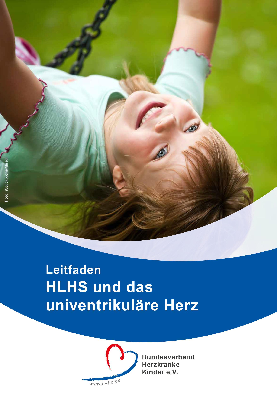 Leitfaden HLHS und das univentrikuläre Herz