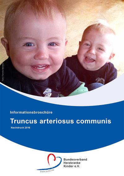 Informationsbroschüre Truncus arteriosus communis