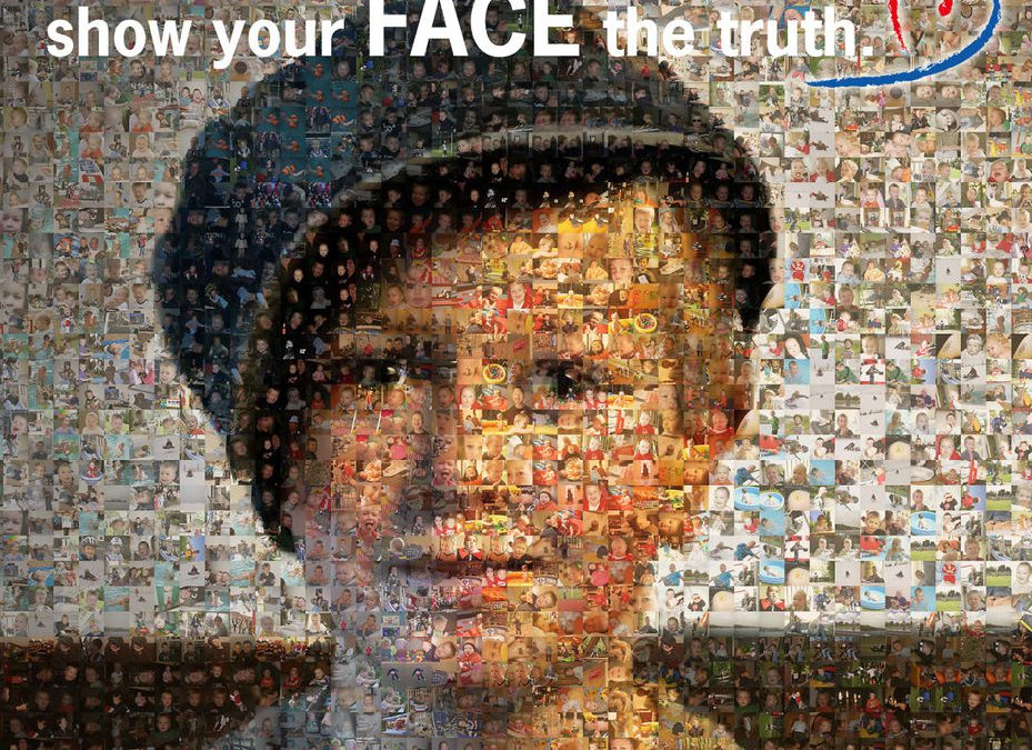 "Rutronik-Spendenaktion ""show your FACE the truth"""