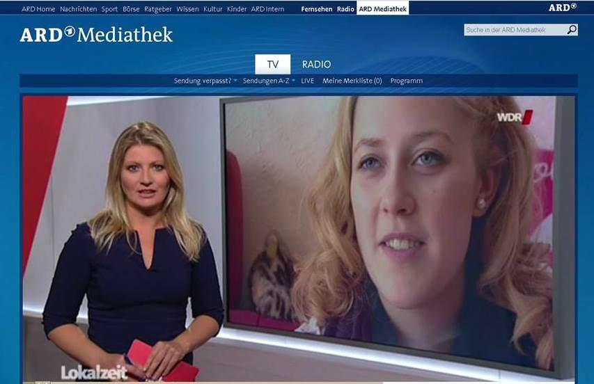 EMAH Versorgung – Beitrag im WDR