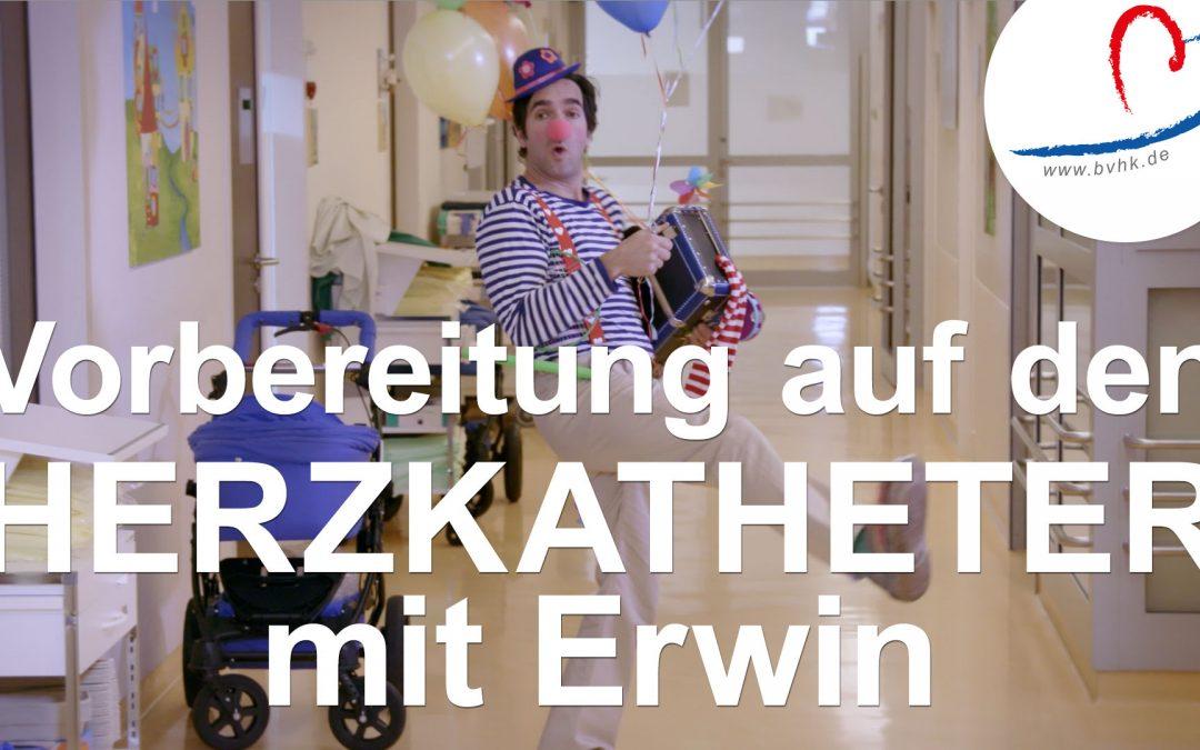 Vorbereitung auf OP und Herzkatheter mit Erwin
