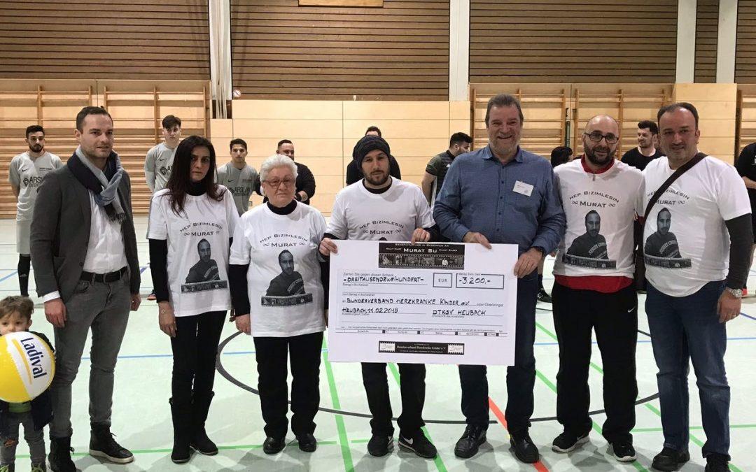 Benefizfußballturnier in Heubach – zum Gedenken an Murat Su