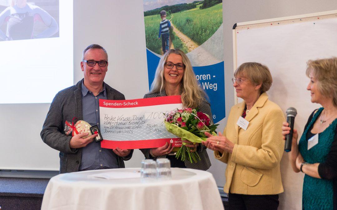 """Die Gewinner des Journalistenpreises des Bundesverbandes Herzkranke Kinder e.V.: """"Herzkrank geboren– ein lebenslanger Weg"""""""