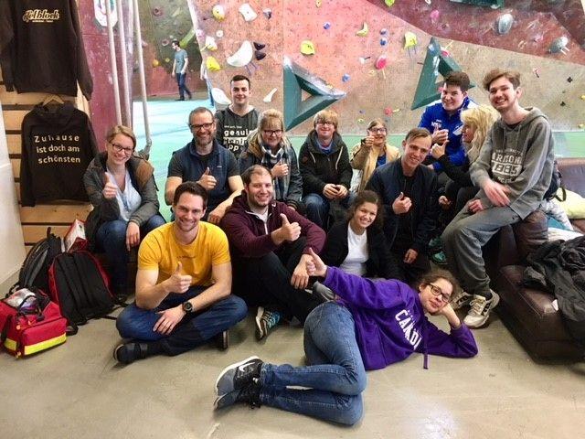 Abenteuercamp für JEMAH vom 03.-08.04.2018 in Hübingen