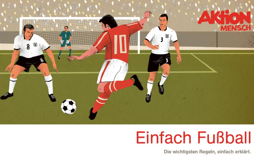 Fußball-Regeln in Einfacher Sprache