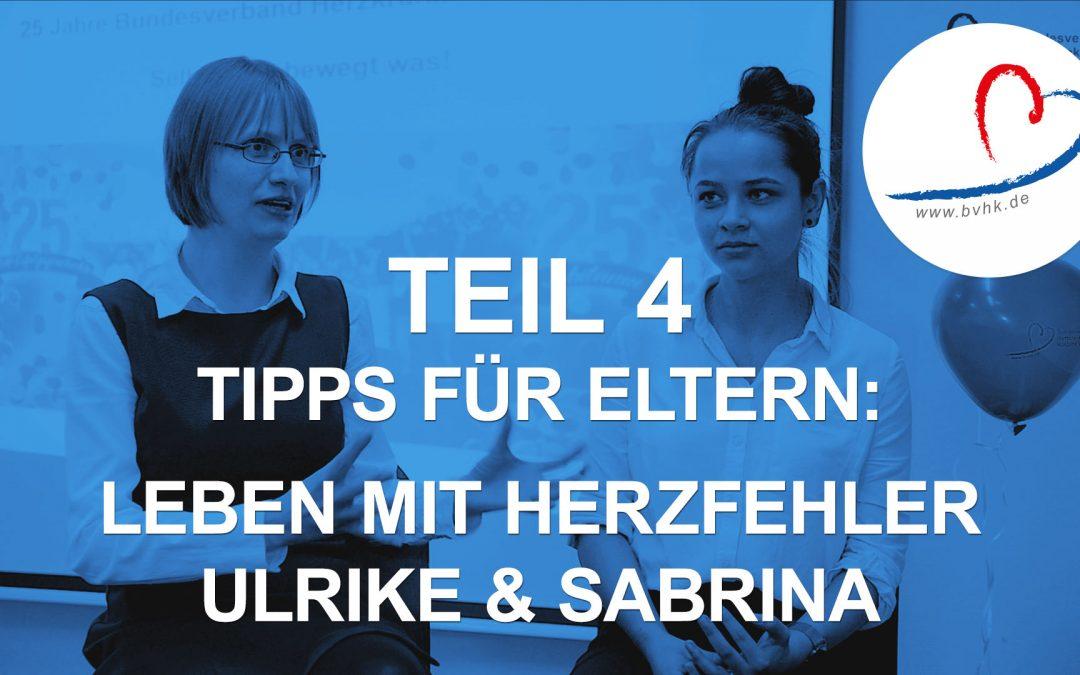Leben mit Herzfehler: Sabrina (19) und Ulrike (34) geben Tipps für Eltern