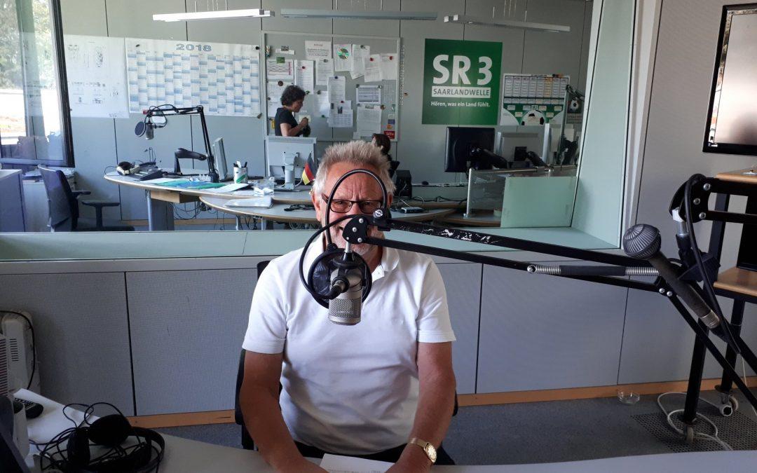 Interview im SR mit Bernd Funk von Herzkrankes Kind Homburg/Saar e.V.