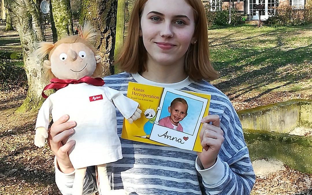 Annas Herz-OP – unser Kinderbuch zur Vorbereitung auf eine Herz-OP