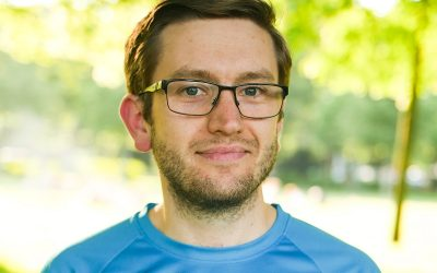 Besonderer Läufer beim Köln Marathon